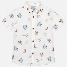 Рубашка с коротким рукавом для мальчика 3133