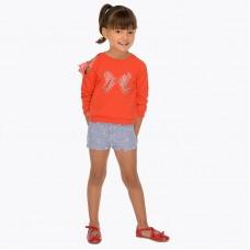 Вышитые шорты для девочки