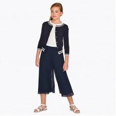 Плиссированная юбка для девочек Mayoral