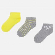Набор тенисных коротких носков для мальчика