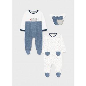 Комплект для новорожденного Mayoral (Майорал) комбинированного оттенка