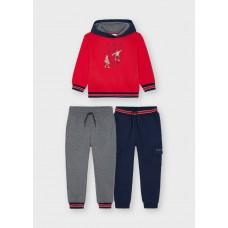 Спортивный костюм Майорал (Майорал) на мальчика красного оттенка