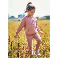 Спортивный костюм на девочку Mayoral (Майорал) бледно-розовый оттенок