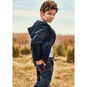 Утепленные штаны Mayoral(Майорал) на мальчика синий оттенок