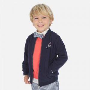 Кофта Mayoral (Майорал) для мальчика синего оттенка