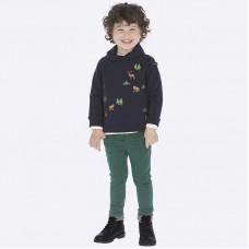 Брюки Mayoral(Майорал) для мальчика зеленого оттенка