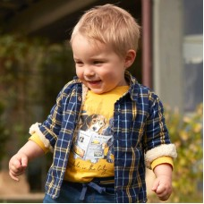 Футболка на мальчика Mayoral (Майорал) желтого оттенка