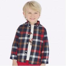 Рубашка Mayoral(Майорал) для мальчика  шотландская клетка