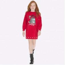 Платье на девочку Mayoral (Майорал) красный оттенок