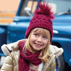 Комплект Mayoral(Майорал) для девочки рубинового оттенка