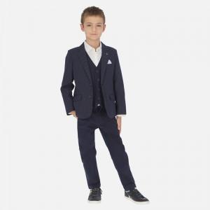 Брюки для мальчика Mayoral (Майорал) синего оттенка