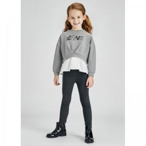 Комплект на девочку Mayoral (Майорал) оттенок серый