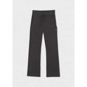 Трикотажные штаны на девочку Mayoral (Майорал) серый оттенок