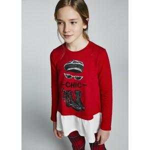 Комплект на девочку Mayoral (Майорал) оттенок красный