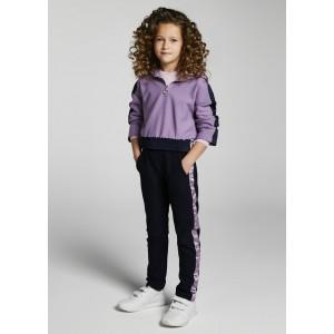 Комплект: толстовка и брюки на девочку Mayoral (Майорал) лиловый оттенок