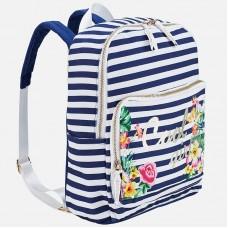 Полосатый рюкзак для девочки 10605
