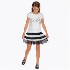 Стильная юбка  для девочки Mayoral