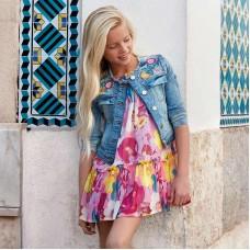 Платье для девочки на лето Mayoral