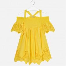 Ажурное платье Mayoral для девочки.