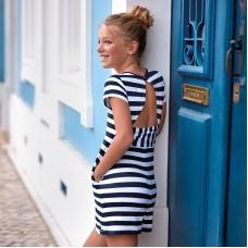 Платье с коротким рукавом для девочки Mayoral  6944