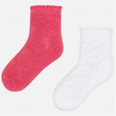Комплект ажурных носков для девочки Mayoral