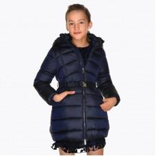 Пальто Mayoral(Майорал) для девочек синего оттенка