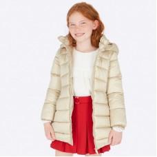 Пальто Mayoral(Майорал) для девочек золотого оттенка