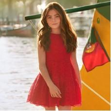 Платье без бретелек для девочки