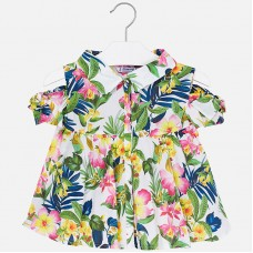 Блузка  с коротким рукавом с разрезами на плечах Mayoral