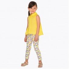Трикотажные брюки на девочку Mayoral