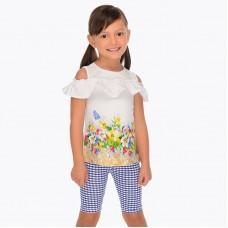 Комплект для девочки футболки и леггинсы Mayoral
