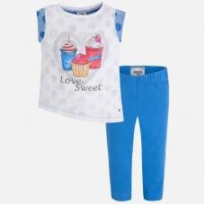 Комплект-двойка трикотажный: футболка+капри Mayoral