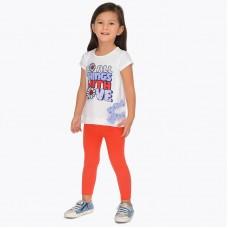 Комплект лосины и футболка для девочки Mayoral