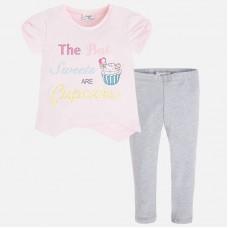 Комплект лосины и футболкат для девочки Mayoral