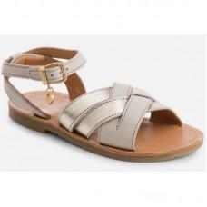 Кожаные сандали для девочки Mayoral 43773