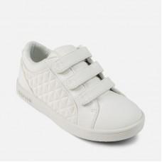 Кеды белые для девочки Mayoral 45919