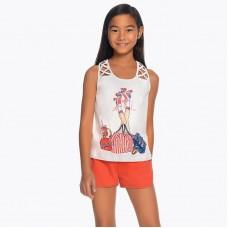 Трикотажные шорты для девочки Mayoral