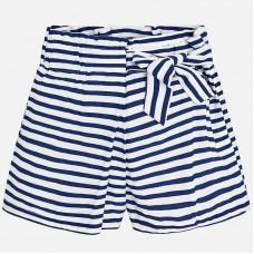 Юбка-шорты в полоску  синие Mayoral