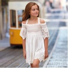 Ажурное платье на девочку Mayoral