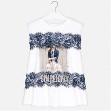 Платье с коротким рукавом для девочки Mayoral