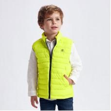 Жилет Mayoral (Майорал) для мальчика лимонного оттенка