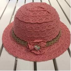 Шляпка для девочек Mayoral (Майорал) оттенок пудровый