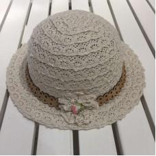 Шляпка для девочек Mayoral (Майорал) оттенок бежевый