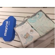 Комплект для новорожденного Mayoral (Майорал) бирюзового оттенка