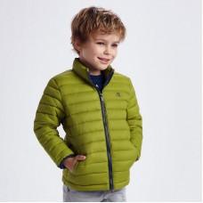 Демисезонная куртка на мальчика Mayoral (Майорал) зеленого оттенка