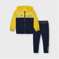 Спортивный костюм Майорал (Майорал) на мальчика желто-синего оттенка