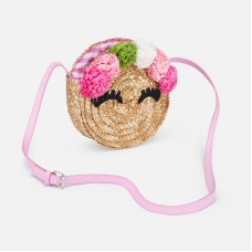 Цветочная сумка  для девочки Mayoral (Майорал) оттенок камелия