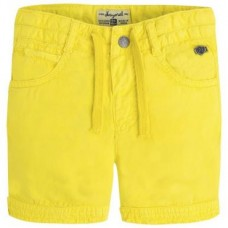 Шорты Mayoral(Майорал) для мальчика желтого оттенка