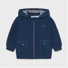 Вязаная куртка для мальчика Mayoral (Майорал) синий оттенок