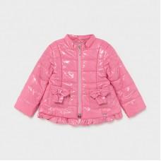 Мягкая куртка на девочку Mayoral (Майорал) оттенок камелия